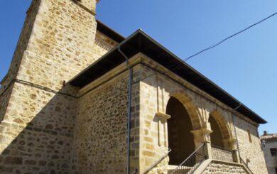 Iglesia en honor a Santa Coloma (Angostina) / Santa Colomaren Ohoretan Eriakitako Eliza (Angostina)